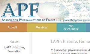 APF_Association_Psychanalytique_de_France